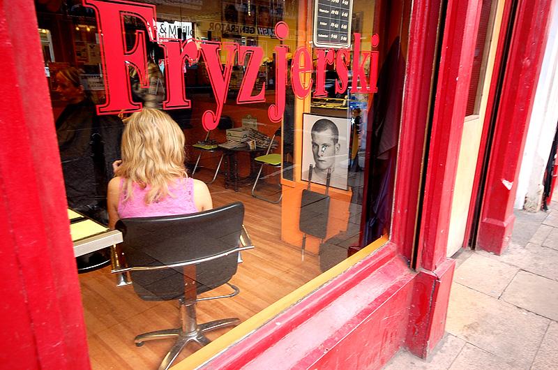 Polski fryzjer na Great Junction St
